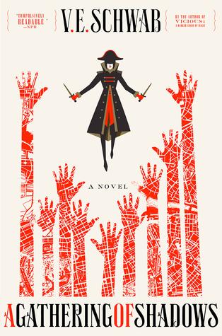 Book Review: A Gathering of Shadows (Shades of Magic,#2)