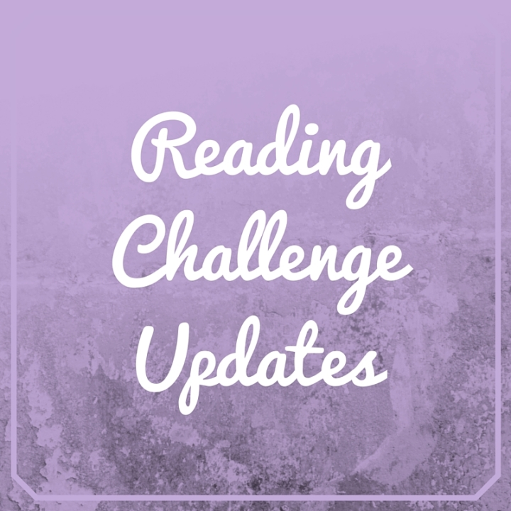 Reading Challenge Updates – October 2nd, 2016