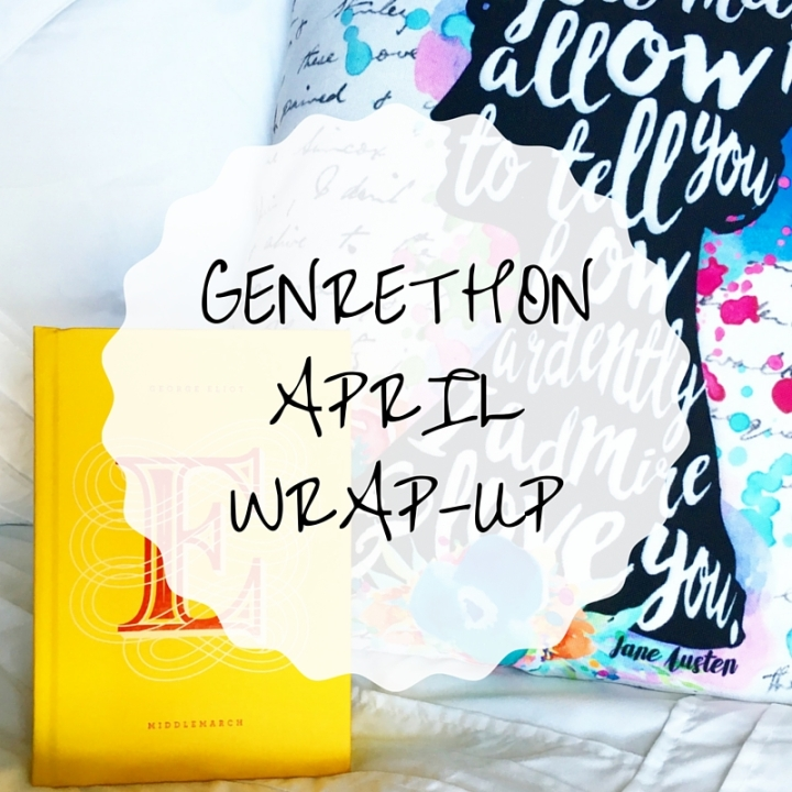 April Genrethon Wrap Up