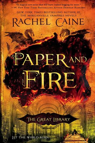 Book Review: Paper and Fire (The Great Library, #2)