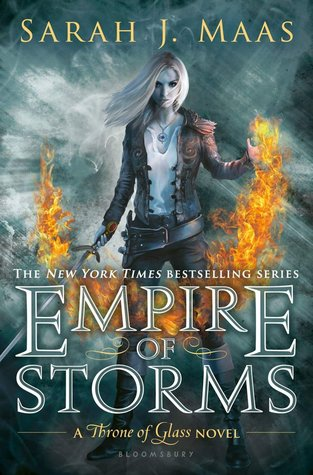 Book Review: Empire of Storms (Throne of Glass,#5)