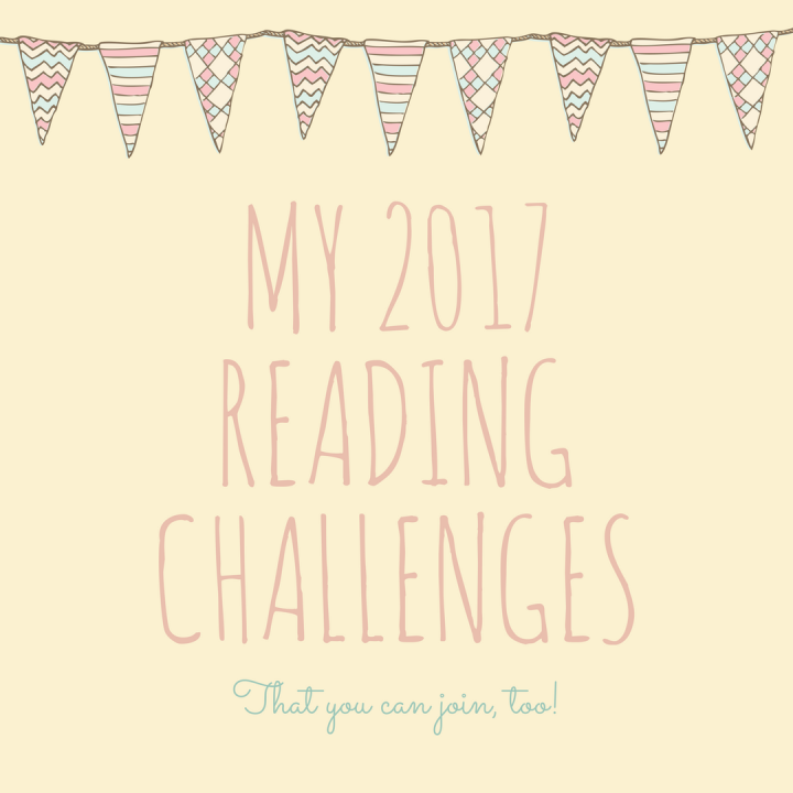My 2017 Reading Challenges(O.M.G!)