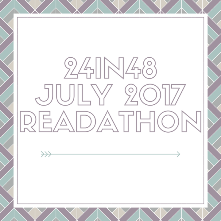 24in48 July 2017 Readathon – Personal Goals & TBR