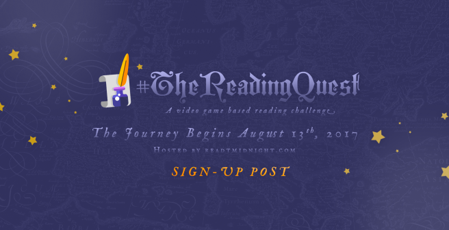 #TheReadingQuest Introduction & TBR