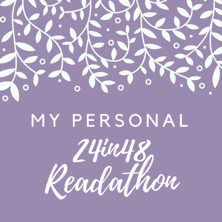My Personal #24in48 Readathon and Giveaways!