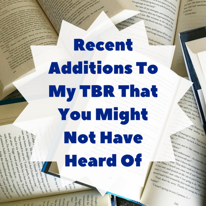 My Recent TBR Adds That You Might Not Have Heard Of, Part 2