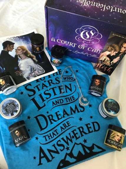 Subscription Box Review: A Court of Candles, ACOFAS Limited