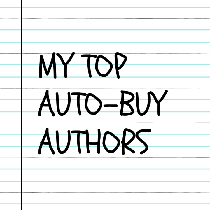 My Top Five Auto-Buy Authors